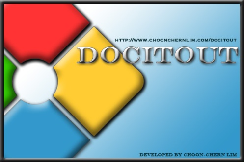 DocItOut - Splash Screen